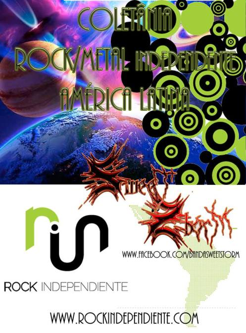 Coletânea Rock Metal Independente América Latina